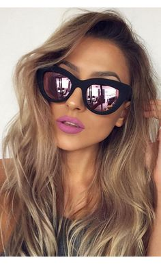 Kitti Sunglasses Pink Mirror