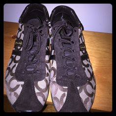 Coach Kathleen sneakers Coach Kathleen sneakers. Size 9.5M. Gently used. Great condition. Coach Shoes Sneakers