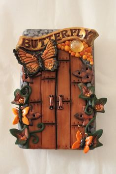 Butterfly Fairy Door by Spritefyre