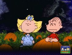 On Halloween night, the Great Pumpkin rises from his pumpkin patch and flies through the air with his bag of toys to all the children.