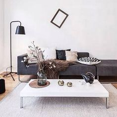 scandinavian living interior