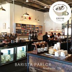 Barista Parlor, Nashville! 冷蔵庫は、ショーケースより四角の方が、おとこらしくていい