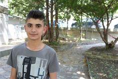 Husan M. hofft, dass er eine Fingerprothese erhalten kann.