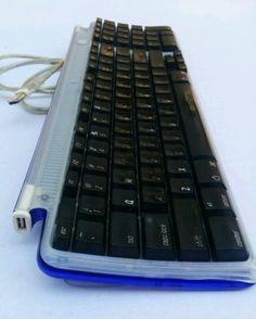 Genuine-Apple-USB-Wired-Keyboard-M2452-Grape-Purple-Retro-iMac-G3-G4-Power-Mac