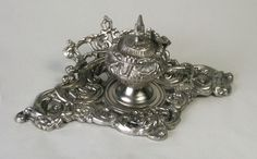 Decorative Single Inkwell