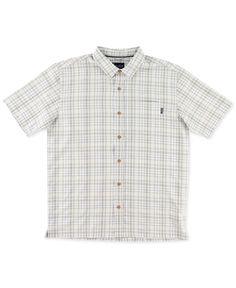 ONeill Mens Jack Life Aquatic Button Up Short-Sleeve Shirt