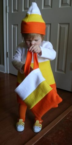 Candy Corn Costume.