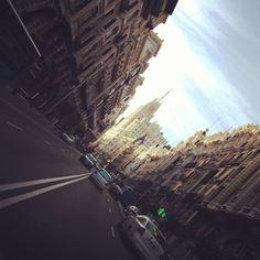 My favourite street is Gran via / Madrid