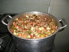 Crock Pot Recipes, Comida Latina, One Pot Meals, Paella, Fried Rice, Summer Recipes, Macaroni And Cheese, Food And Drink, Healthy Recipes