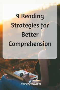 9 Reading Strategies for Better Comprehension — Margot Note Consulting LLC Reading Strategies, Reading Comprehension, Tools For Teaching, Research Methods, Prioritize, Graduate School, Effort, Student, Note