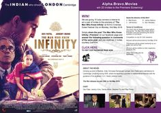 We are giving 10 lucky winners a chance to win a pair of invites to the premiere of 'The Man Who Knew Infinity' at NOVO Cinemas, Dubai Festival City Mall on Monday, 2nd May 2016. Simply share the post 'The Man Who Knew Infinity | Premiere' on our facebook page and answer the following question in comments of the same post, and you could win 2 invites, courtesy of Gulf Film.