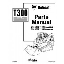 Bobcat T300 Turbo Track Loader Parts Manual PDF