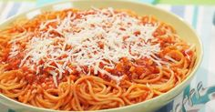 Chicken Carrot Spaghetti      Adding chicken meat and grated carrots gives this simple spaghetti dish added texture.