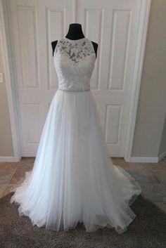 Tulle Princess Wedding Dresses Elegant Ball Gown OM563