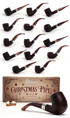 Dýmky Peterson Christmas 2015 Peterson Christmas 2015 pipes