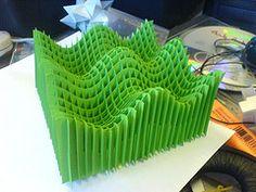 DSC00389 (stuartkn) Tags: art paper origami card sliceform