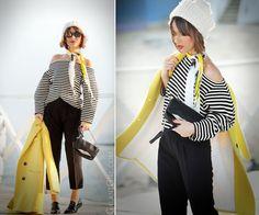 teyo top, more is love brands, galant girl, yellow coat Choies,