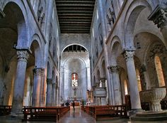 Nave and Ambo of Bitonto Cattedrale
