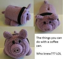 best service 21fc5 7ce2d Piggy Bank Crochet Pattern I so want debi to make this