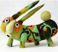 Miracle of anything - Merry felt - great crazy creatures & doll inspiration