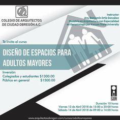Ciudad Obregón:Curso sobre diseño de espacios para adultos mayores | Central Informativa del Adulto Mayor