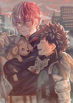 Tododeku 💖 My Hero Academia 💓 Deku Anime, M Anime, Fanarts Anime, My Hero Academia Shouto, My Hero Academia Episodes, Hero Academia Characters, Hero Wallpaper, Image Manga, Anime Boyfriend