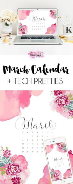 March 2016 Calendar + Tech Pretties This post may contain affiliate links. See our full disclosureshere. March 2016 Calendar + Tech Pretties This calendar design actually first appeared last April but I had to many requests that it make a reappearance, I re-created the look for this month! I love fresh flowers. They're such simple …