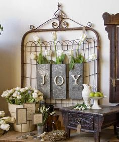 Learning Creating Living: 10 Neutral Spring Decor Ideas