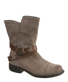 Another great find on #zulily! Charcoal Bridgeport Leather Boot #zulilyfinds