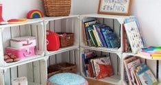 Professora Juce: Muitas ideias para o Cantinho da Leitura na Educação Infantil! Shelving, Bookcase, Fez, Home Decor, Blog, Home Ideas, Kids Activity Ideas, Wood Trellis, Locker