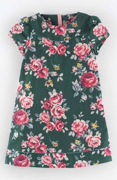 Free shipping and returns on Mini Boden 'Pretty' Print Dress (Toddler Girls, Little Girls & Big Girls) at Nordstrom.com. Wavy piping and gathered short sleeves amp up the charm factor of an A-line dress in a darling, colorful print.