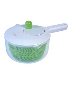 Look at this Green 2.5-Qts. Salad Spinner on #zulily today!