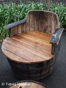Barrel seat, Eden Project