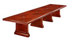 Keswick Expandable 18' Rectangular Conference Table