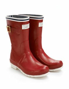 SEAFARER Womens Nautical Rain Boots