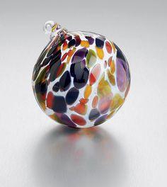 Confetti: Thomas Kelly: Art Glass Ornament - Artful Home