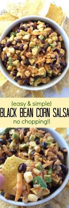 Black Bean Corn Salsa - Together as Family