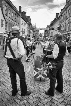 Morris Men by cdodkin, via Flickr