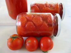Preserving Tomatoes, Food Hacks, Food Tips, Chutney, Preserves, Cooking Tips, Salads, Food And Drink, Jar