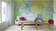 watercolor walls / Sandra Aslaksen / via Julie Loves Home