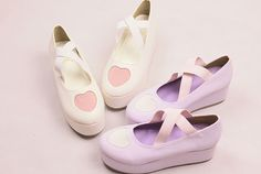 ♡Sweet Pastel Platform Shoes♡ ☞Discount code: PastelGothling (10% off your purchase!)