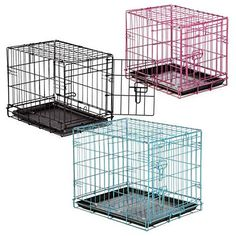 ProSelect Easy Dog Crates for Dogs and Pets - Black >>> Continue to the product at the image link. (This is an affiliate link and I receive a commission for the sales) #CatCages