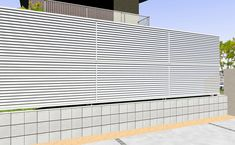 Value Selectのフェンス・柵 ミエーネフェンス 目隠しルーバータイプ 2段支柱 Outdoor Spaces, Fence, Blinds, Skyscraper, Gate, Entrance, Multi Story Building, Home And Garden, Home Appliances