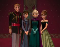 Elsa: So here's us all together right before our parents died. My mom was a milf. Anna: And there's our dad, Crazy Old Maurice! Elsa: He didn't have a name,that was his voice actor, idiot. Anna: CRAZY OLD MAURICE Frozen And Tangled, Disney Princess Frozen, Disney Princess Pictures, Elsa Frozen, Frozen Movie, Princess Anna, Best Disney Movies, Disney Films, Disney And Dreamworks
