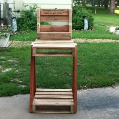 Grilling station made from 1 pallet!