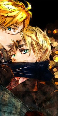 Alfred and Arthur - Art by 2GB@壁博2東6ミ16a