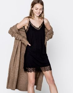 Camisole dress - What's new - Clothing - Woman - PULL&BEAR Greece