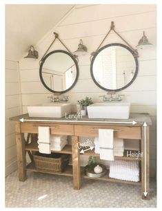14 idées de meubles rustiques pour une salle de bain cozy Using natural and rustic elements in the bathroom…Bathroom Furniture – Industrial Great Design Ideas To Add Rustic Style To Your… 14 Rustic Furniture Ideas for a Cozy Bathroom Decor, Bathroom Inspiration, Bathroom Decor, Bathroom Remodel Master, Farmhouse Bathroom Decor, Rustic Bathroom Vanities, Farmhouse Master Bathroom, Home Decor, Bathroom Vanity Remodel