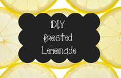 DIY Frosted Lemonade One of my favorite warm weather drinks is lemonade. I love to lay out in the sun and sip it. So relaxing! Although fast food places make really awesome frozen lemonade, I think the best kind is the homemade kind! Here is how to make the best frozen lemonade around. You will knock the socks off...  Read More at http://www.chelseacrockett.com/wp/food-2/diy-frosted-lemonade/.  Tags: #Diy, #DiyFrozenLemonade, #FrozenLempnade, #SpringTreat, #SummerTreat,