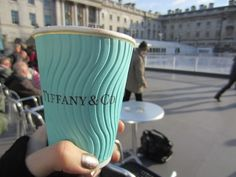 Tiffany and Co. Hot Chocolate in London